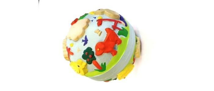 Игрушки для ванны Lanco Латексная игрушка Мячик весенний 1607 игрушки для ванны lanco латексная игрушка жираф мальчик 1207