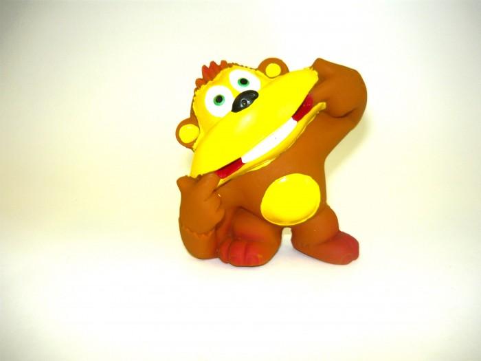Игрушки для ванны Lanco Латексная игрушка Обезьяна-смеющаяся 1011 игрушки для ванны lanco латексная игрушка рыба лулу большая 2607