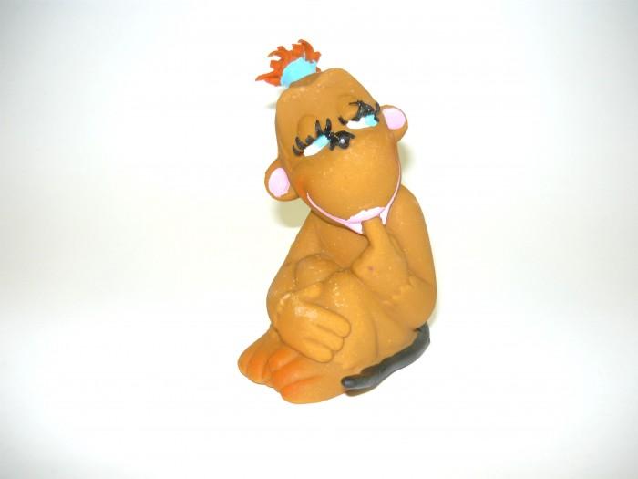 Игрушки для ванны Lanco Латексная игрушка Обезьяна-девочка 1026 латексные искусственные розочки в розницу москва