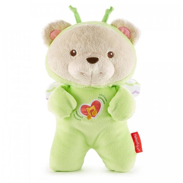 Купить Мягкие игрушки, Мягкая игрушка Fisher Price Mattel Успокаивающая игрушка для сна Мечты о бабочках