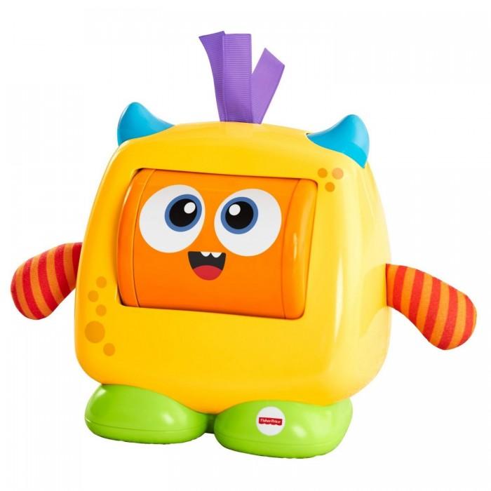 Интерактивные игрушки Fisher Price Mattel Добрый монстрик цена 2017