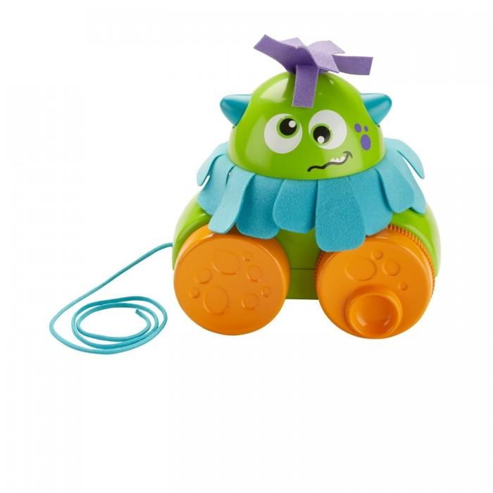Каталка-игрушка Fisher Price Mattel Монстрик Играй и катай на веревочке фото