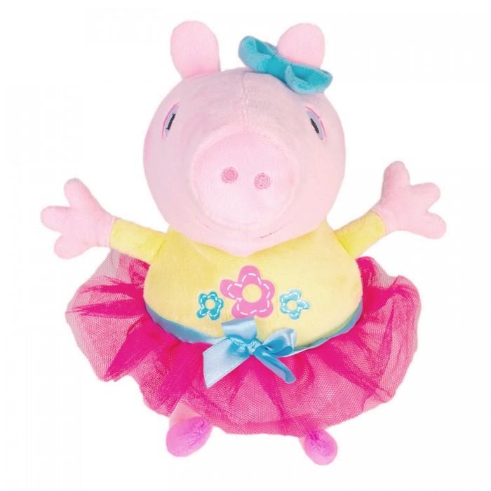 Мягкая игрушка Свинка Пеппа (Peppa Pig) Пеппа играет в прятки 25 см