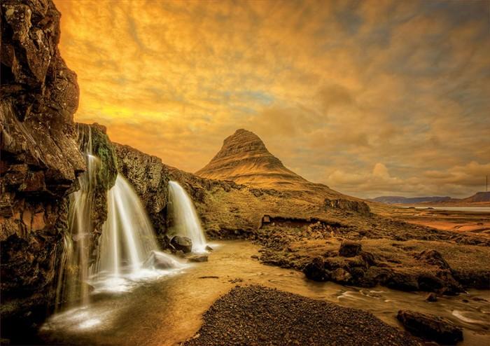 Educa Пазл Водопад Киркьюфетльсфос, Исландия 1000 деталей