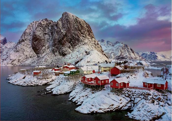 Educa Пазл Лофотенские острова, Норвегия 1500 деталей