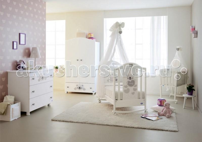 Детская кроватка Pali Funny (качалка)