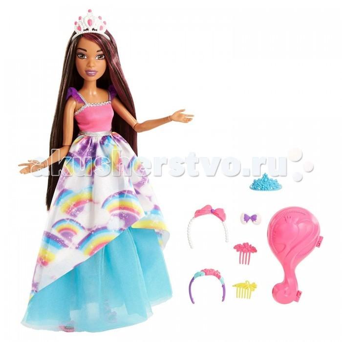 Barbie Mattel Кукла Барби брюнетка с длинными волосами