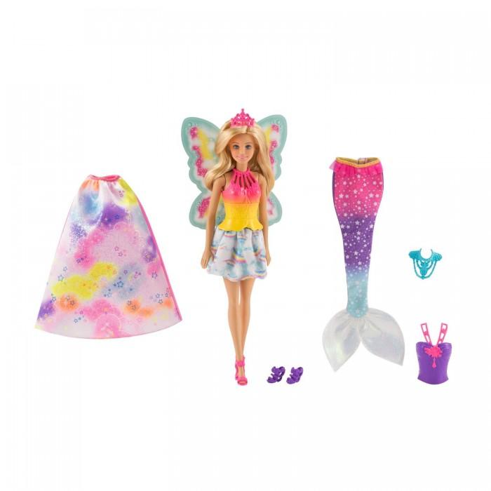 Купить Куклы и одежда для кукол, Barbie Mattel Кукла Барби Сказочная принцесса-фея-русалка