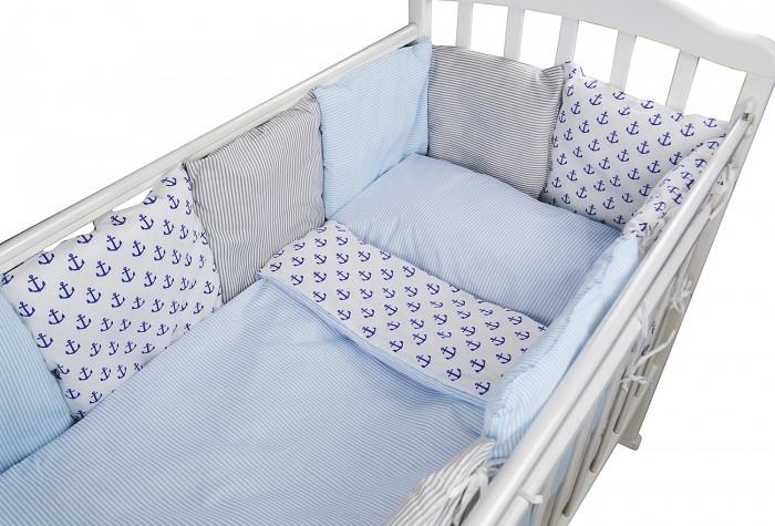 Картинка для Комплект в кроватку Forest для овальной кроватки Anchor (18 предметов)