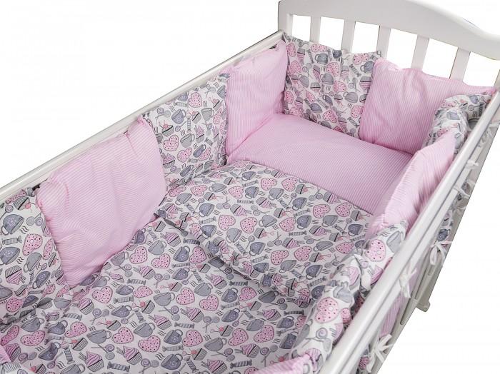 Картинка для Комплект в кроватку Forest для овальной кроватки Candy (16 предметов)
