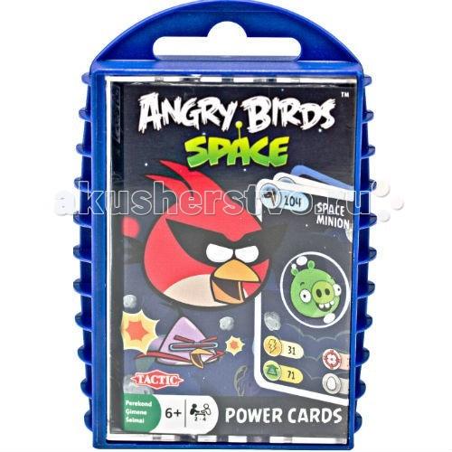Игры для малышей Trefl Игра с карточками Angry Birds Космос
