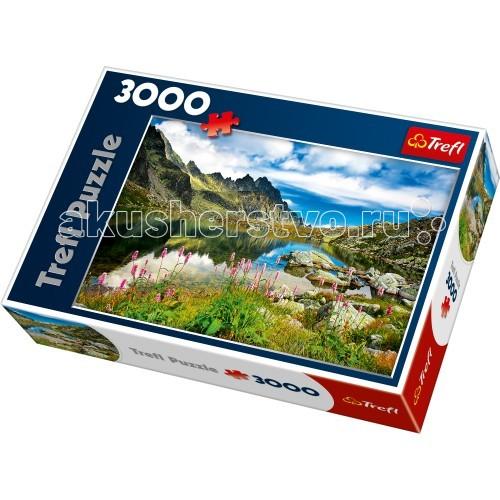 Пазлы Trefl 3000 деталей Пруд в Татрах Словакия пруд садовый в екатеринбурге
