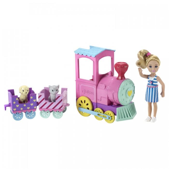 Купить Игровые наборы, Barbie Игровой набор Паровозик Челси