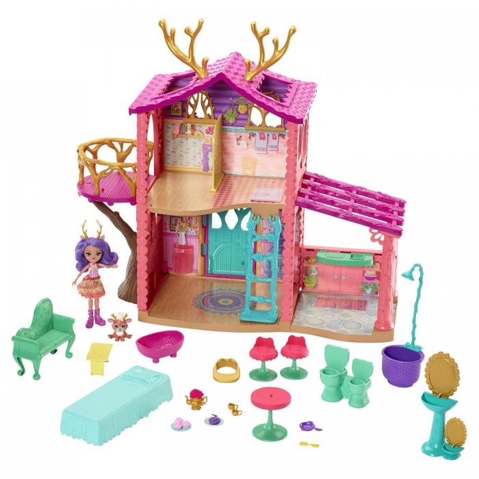 Купить Кукольные домики и мебель, Enchantimals Домик Данессы Оленни