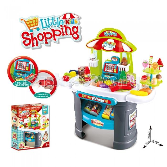 Xiong Cheng Игровой набор Супермаркет (свет, звук)