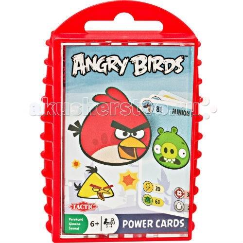 Игры для школьников Trefl Игра с карточками Angry Birds  игра печатная tactic angry birds 40587n