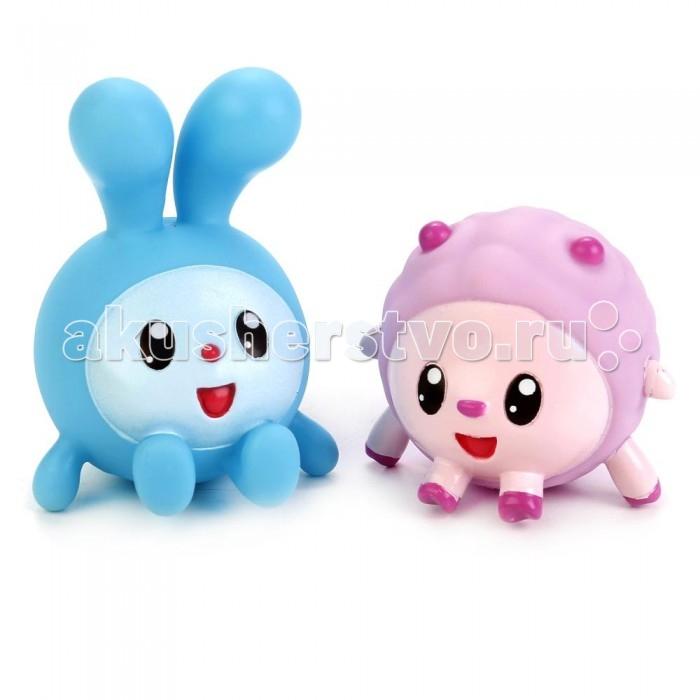 Игрушки для ванны Играем вместе Игрушки для купания Малышарики Крошик+Бараше