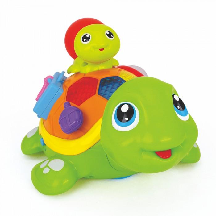 Купить Электронные игрушки, Huile Toys Игрушка музыкальная Весёлые черепашата (музыка, свет)