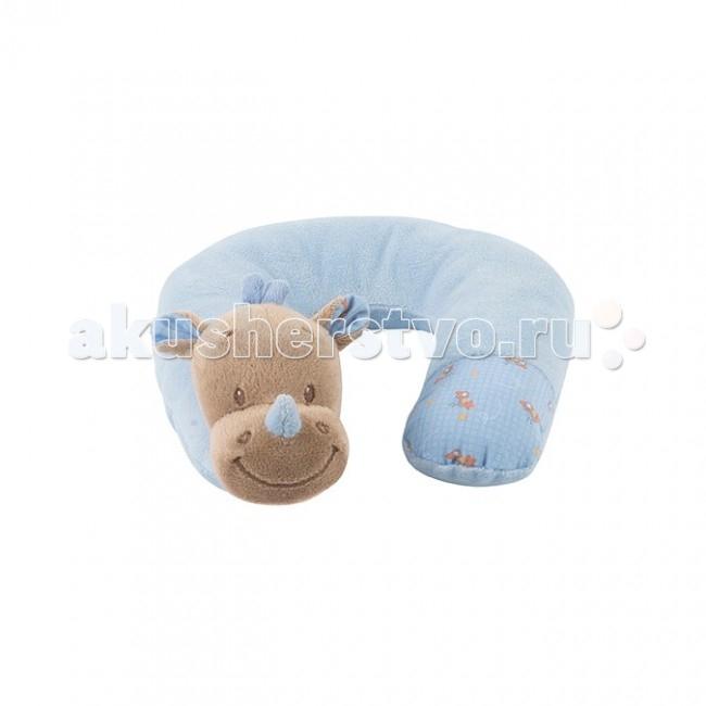 Nattou Подушка-подголовник Neck pillow Arthur&Louis Носорог