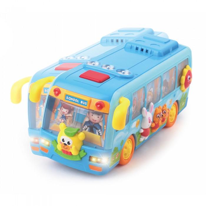 Развивающая игрушка Huile Toys Школьный автобус с логикой (музыка, свет)