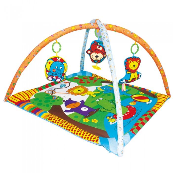 Развивающий коврик Biba Toys Мои друзья из Джунглей