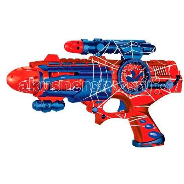 Игрушечное оружие Играем вместе Космический бластер Marvel Spiderman B800442-R2 купить бластер для паутины человека паука