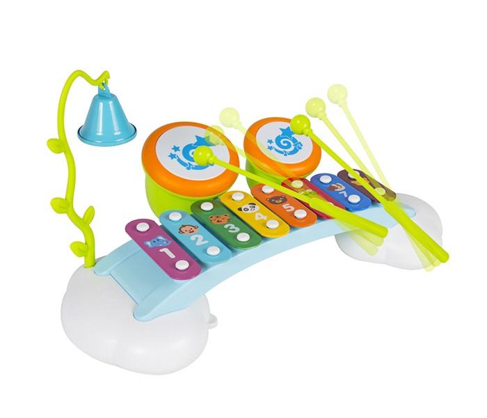 Развивающая игрушка Hola Ксилофон Радуга со звуками органа