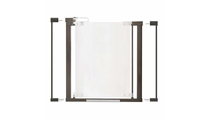 Картинка для Safe&Care Ворота безопасности прозрачные ClearView AutoLock 76-96 см