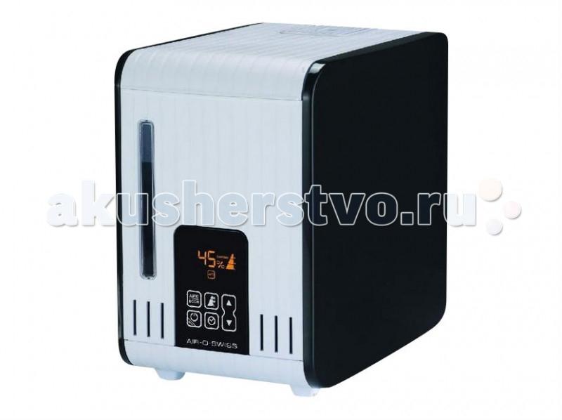 Boneco Увлажнитель воздуха (горячий пар) AOS S450Увлажнитель воздуха (горячий пар) AOS S450Паровой увлажнитель воздуха Air-O-Swiss S450 – современное устройство, созданное, чтобы поддерживать максимально комфортный уровень влажности в вашем доме. С помощью встроенного гидростата контроль за этим процессом будет осуществляться автоматически, по достижении нужных показателей, прибор будет самостоятельно отключаться.   В основу работы Boneco Air-O-Swiss S450 заложен принцип «горячего» испарения. Поступая в специальный поддон, вода из бака нагревается, преобразуется в пар и поступает в помещение через камеру подачи пара. Поскольку соли жесткости оседают на внутренних стенках парового увлажнителя, а микробы и вирусы уничтожаются под воздействием высокой температуры, пар, подающийся в помещение, является стерильным.   Boneco Air-O-Swiss S450 стало незаменимым для цветоводов, поскольку способно создавать и поддерживать высокий уровень влажности (более 85%). Увлажнитель воздуха может быть использован в качестве домашнего ингалятора в период вирусной активности в холодное время года, и для ароматизации воздуха. Ароматерапия оказывает лечебно-профилактическое действие, повышая настроение, укрепляя иммунитет детей и взрослых, поддерживая хорошую физическую форму и душевное равновесие.  Отличительные особенности Электронное управление Теплый пар Не требует расходных материалов и сменных фильтров Не оставляет белого известкового налета на мебели Сенсорный экран Ароматизация Можно использовать в качестве домашнего ингалятора Таймер Автоматический режим работы Ночной режим Встроенный электронный гигростат (регулятор влажности) Регулятор интенсивности увлажнения Индикатор уровня воды Индикатор чистки прибора<br>