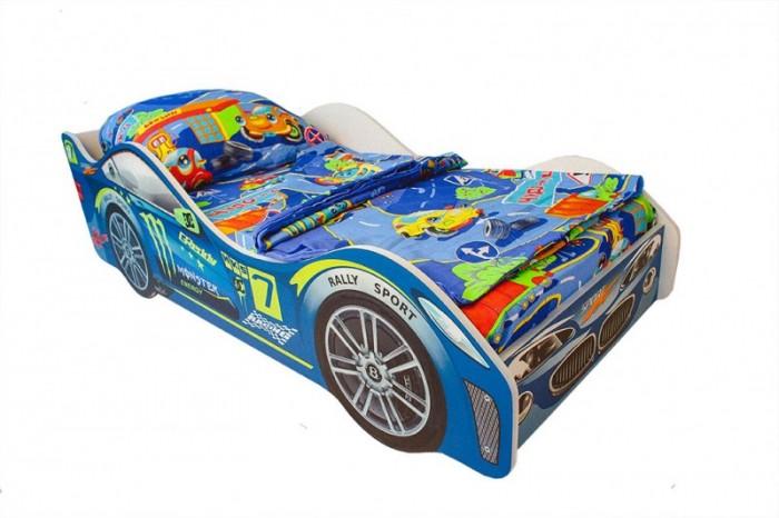 Картинка для Подростковая кровать Бельмарко машина Молния