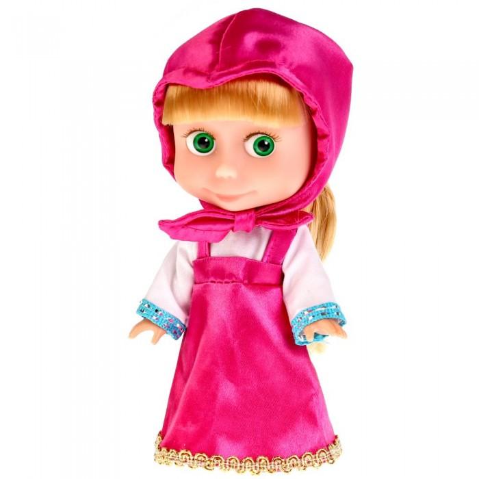 Карапуз Кукла Маша и Медведь с комплектом одежды 15 см