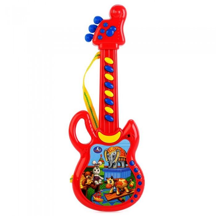 Музыкальные инструменты Умка Электрогитара 14 песен на стихи А.Барто электрогитара ibanez gsa60