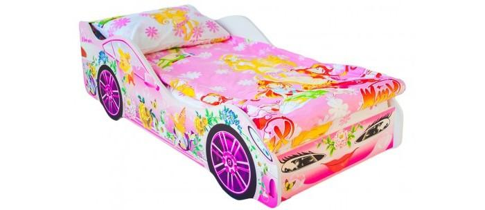 Подростковая кровать Бельмарко машина ФеяКровати для подростков<br>Бельмарко Подростковая кровать-машина Фея – это оригинальная и качественная продукция в мире детской мебели. Кроватка придется по душе любому мальчишке, мечтающему иметь свой автомобиль. Это игровая зона днем и в то же время, комфортное спальное место ночью, где обязательно приснятся захватывающие приключения. Теперь вам не придется уговаривать малыша лечь спать.  Для безопасности ребенка в дизайн модели защитные бортики, все линии конструкции сделали плавными, а торцы оклеили кромкой. Кроме того, кровать может выдержать большую нагрузку (не менее 200 кг), поэтому можно не опасаться, что она сломается во время активных игр.  Изделие представляет собой крепкое устойчивое основание из деревянных лат и ламинированный корпус из ЛДСП кл. Е1, которые легко монтируются между собой при помощи фурнитуры, входящей в комплект. Также прилагается инструкция по сборке и необходимый инструмент.   Преимущества кроватей: При производстве мы используем ЛДСП максимально высокого качества (гладкая и приятная на ощупь поверхность, высокая плотность материала, отсутствие специфического запаха), высший класс Е-1 (для детских изделий) Отсутствие открытых участков ЛДСП (ГОСТ) Все торцы заклеены кромкой ПВХ с помощью специализированных станков, что улучшает эстетический вид кровати Только у нас используется прямая фотопечать на ЛДСП безопасными ультрафиолетовыми чернилами Все габаритные размеры кровати соблюдены в строгом соответствии с ГОСТом Боковые линии кровати позволяют взрослому удобно сидеть пока ребенок засыпает, при этом ребенок никогда не упадет во сне Легкая сборка в течении 10 минут, все что нужно для этого уже внутри, дополнительные инструменты не требуются. Подробная инструкция по сборке Деревяные прочные латы, выдерживающие самую высокую нагрузку. 200 кг Латы позволяют матрасу дышать, если он намокнет, достаточно его перевернуть и он высохнет Особенности: Размер кровати(см): 170х75х50 (ДхШхВ) Размер спального м