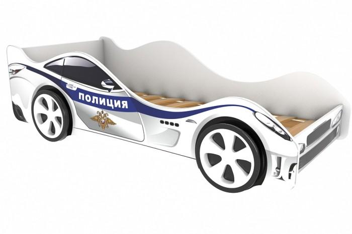 Картинка для Подростковая кровать Бельмарко машина Полиция