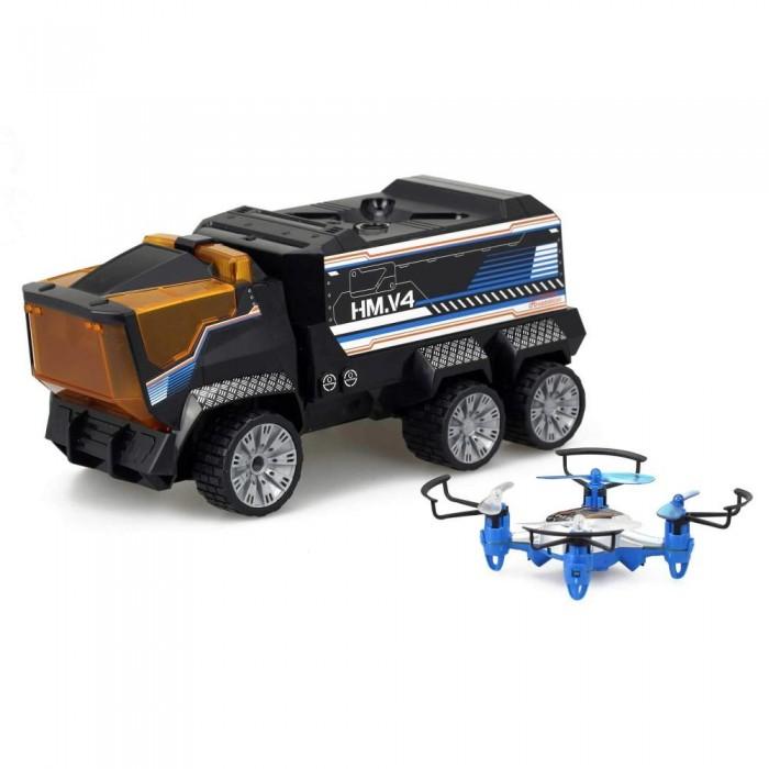 Купить Радиоуправляемые игрушки, Silverlit Игровой набор Миссия дронов - Грузовик + Квадрокоптер