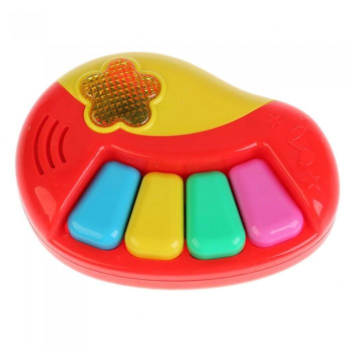Купить Музыкальные инструменты, Музыкальный инструмент Умка Обучающее пианино 24 потешки и песни