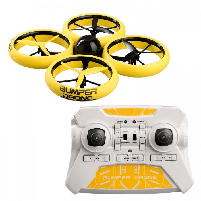 Купить Вертолеты и самолеты, Silverlit Бампер Дрон с камерой HD на радиоуправлении