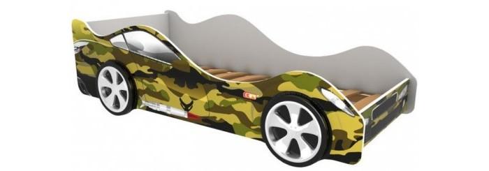 Подростковая кровать Бельмарко машина Хаки