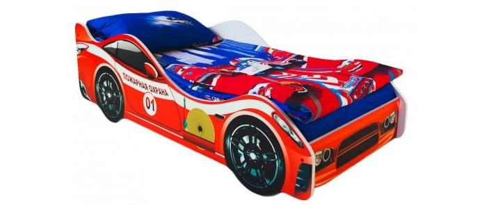 Картинка для Подростковая кровать Бельмарко машина Пожарная охрана