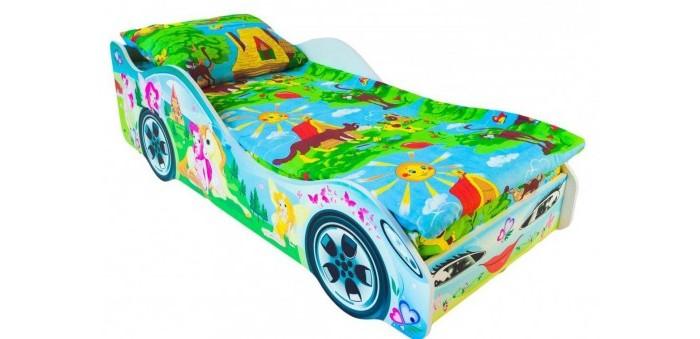 Картинка для Подростковая кровать Бельмарко машина Принцесса