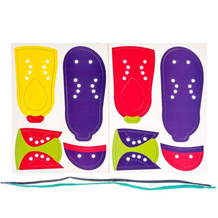 Настольные игры Умка Настольная игра-шнуровка Ботинок в пакете