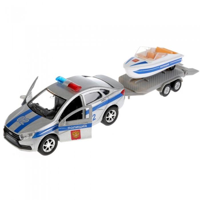 Купить Машины, Технопарк Машина металлическая Lada Vesta Полиция 12 см
