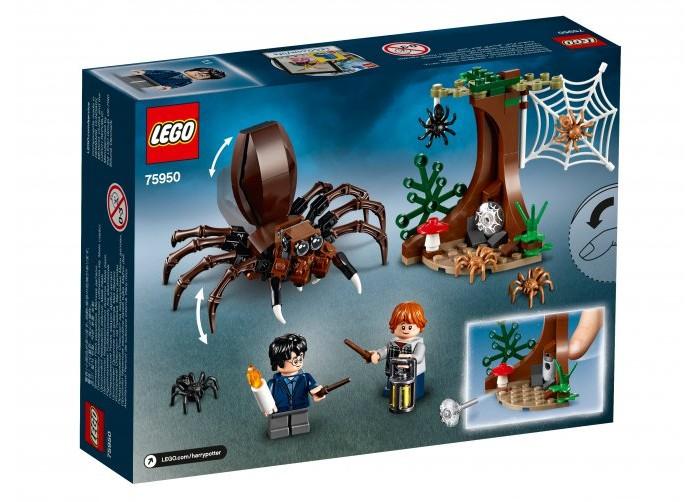 Конструктор Lego Harry Potter Логово Арагога