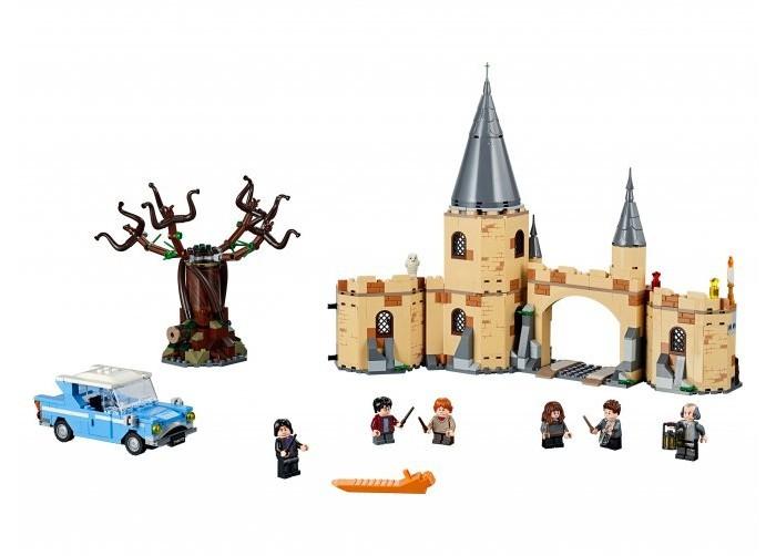 Конструктор Lego Harry Potter Гремучая ива