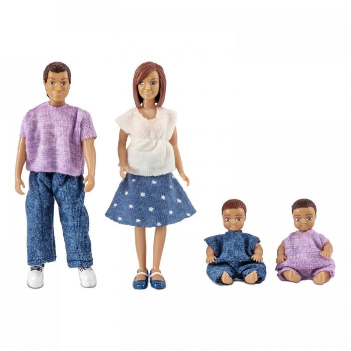 Картинка для Куклы и одежда для кукол Lundby Куклы для домика семья с двумя малышами