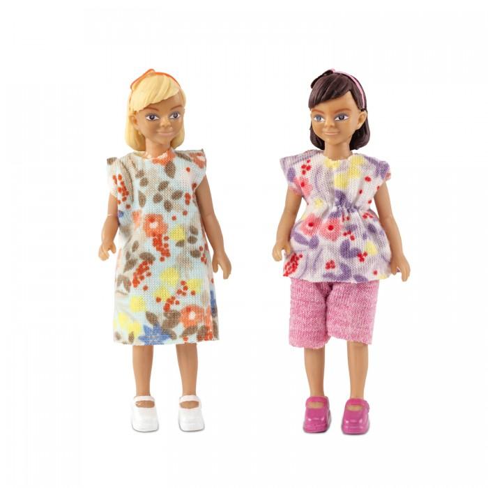 Картинка для Куклы и одежда для кукол Lundby Набор кукол для домика две девочки