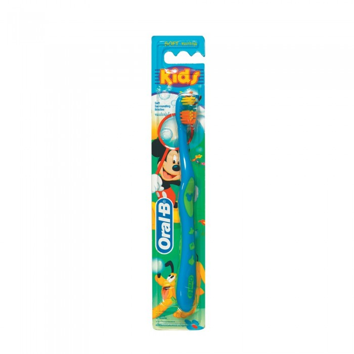 Гигиена полости рта Oral-B Зубная щетка Mickey for Kids 20 мягкая