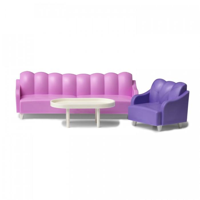 Кукольные домики и мебель Lundby Кукольная мебель базовый набор для гостиной мебель для прихожей