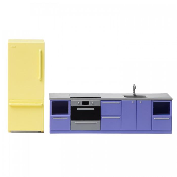 Кукольные домики и мебель Lundby Мебель для домика базовый набор для кухни кукольные домики и мебель hape мебель для столовой
