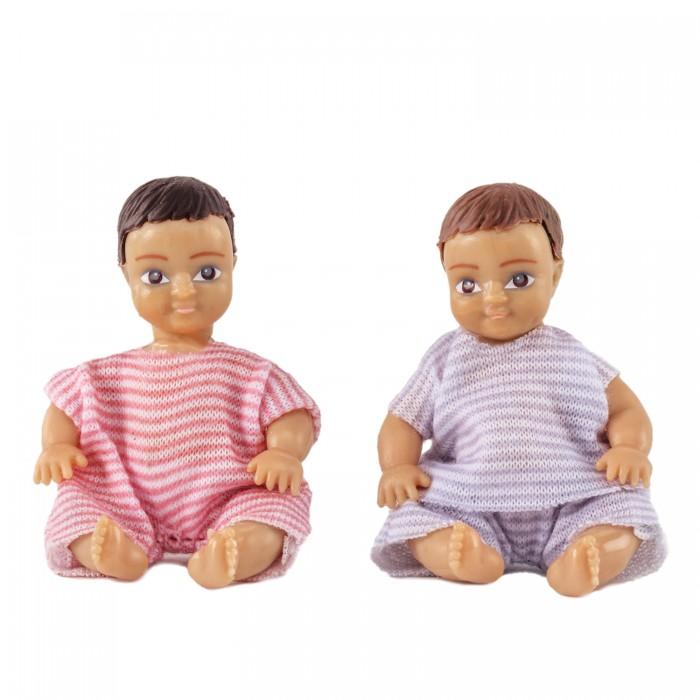 Фото - Куклы и одежда для кукол Lundby Набор кукл для домика два пупса куклы и одежда для кукол игротрейд пупсик спящий